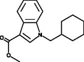 methyl-<wbr/>1-<wbr/>(cyclohexylmethyl)-<wbr/>1H-<wbr/>indole-<wbr/>3-<wbr/>Carboxylate