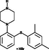 Vortioxetine (hydro<wbr/>bromide)