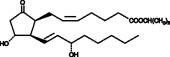 8-<wbr/><em>iso</em> Prostaglandin E<sub>2</sub> isopropyl ester