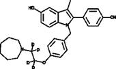 Bazedoxifene-d<sub>4</sub>