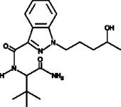 ADB-<wbr/>PINACA N-<wbr/>(4-<wbr/>hydroxypentyl) metabolite