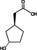 (1S,3S)-<wbr/>3-<wbr/>Hydroxycyclopentane acetic acid