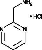 2-<wbr/>Aminomethylpyrimidine (hydro<wbr>chloride)