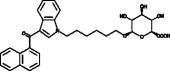 JWH 019 N-<wbr/>(6-<wbr/>hydroxyhexyl) β-<wbr/>D-<wbr/>Glucuronide