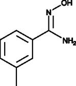 3-<wbr/>methyl Benzamide<wbr/>oxime