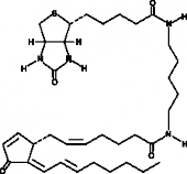 15-<wbr/>deoxy-<wbr/>Δ<sup>12,14</sup>-<wbr/>Prostaglandin J<sub>2</sub>-<wbr/>biotin