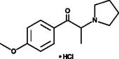 4'-<wbr/>methoxy-<wbr/>α-<wbr/>Pyrrolidinopropiophenone (hydro<wbr/>chloride)