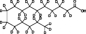 Palmitic Acid-d<sub>31</sub>