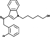 JWH 203 N-<wbr/>(5-<wbr/>hydroxypentyl) metabolite