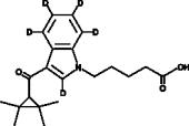 UR-<wbr/>144 N-<wbr/>pentanoic acid metabolite-<wbr/>d<sub>5</sub>