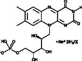 Riboflavin 5'-monophosphate (sodium salt hydrate)