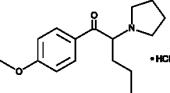 4-<wbr/>methoxy-<wbr/>α-<wbr/>Pyrrolidinopentiophenone (hydro<wbr>chloride)