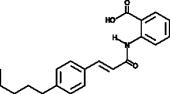 N-<wbr/>(p-<wbr/>amylcinnamoyl) Anthranilic Acid