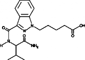 AB-<wbr/>PINACA pentanoic acid metabolite