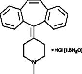 Cypro<wbr/>heptadine (hydrochloride hydrate)