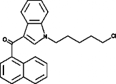 JWH 018 N-<wbr/>(5-<wbr/>chloropentyl) analog