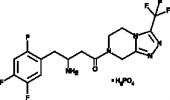 (–)-Sitagliptin (phosphate)