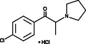 4'-chloro-α-<wbr/>Pyrrolidino<wbr/>propiophenone (hydro<wbr>chloride)
