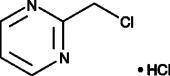 2-<wbr/>(chloromethyl)-<wbr/>Pyrimidine (hydro<wbr>chloride)