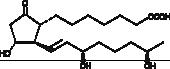15(R),19(R)-<wbr/>hydroxy Prostaglandin E<sub>1</sub>