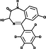 Oxazepam-<wbr/>d<sub>5</sub>