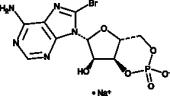 8-<wbr/>bromo-<wbr/>Cyclic AMP (sodium salt)