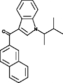 JWH 018 2'-<wbr/>naphthyl-<wbr/>N-<wbr/>(1,2-<wbr/>dimethylpropyl) isomer