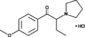 4-<wbr/>methoxy-<wbr/>α-<wbr/>Pyrrolidinobutiophenone (hydro<wbr>chloride)