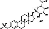 Estradiol 3-sulfate 17β-Glucuronide (potassium salt)