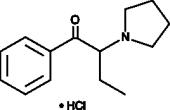 α-<wbr/>Pyrrolidinobutiophenone (hydro<wbr>chloride)