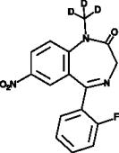 Flunitrazepam<wbr/>-d<sub>3</sub>