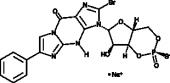 Rp-8-bromo-<wbr/>PET-Cyclic GMPS (sodium salt)