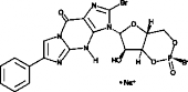 Rp-8-bromo-<wbr/>PET-Cyclic GMPS (sodium salt)