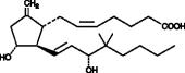 9-<wbr/>deoxy-<wbr/>9-<wbr/>methylene-<wbr/>16,16-<wbr/>dimethyl Prostaglandin E<sub>2</sub>