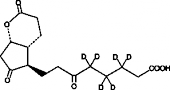 tetranor-<wbr/>PGDM lactone-<wbr/>d<sub>6</sub>
