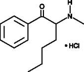 α-Methyl<wbr/>aminohexano<wbr/>phenone (hydro<wbr>chloride)