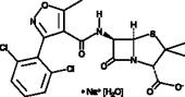 Dicloxacillin (sodium salt hydrate)