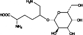 5-<wbr/>(galactosylhydroxy)-<wbr/>L-<wbr/>Lysine