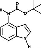 (1H-<wbr/>Indol-<wbr/>4-<wbr/>yl)-<wbr/>Carbamic Acid <em>tert</em>-<wbr/>butyl ester