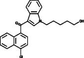 JWH 398 N-<wbr/>(5-<wbr/>hydroxypentyl) metabolite