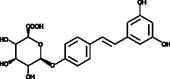 <em>trans</em>-<wbr/>Resveratrol-<wbr/>4'-O-D-<wbr/>Glucuronide