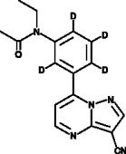 Zaleplon-d<sub>4</sub>