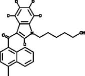 JWH 122 N-<wbr/>(5-<wbr/>hydroxypentyl) metabolite-<wbr/>d<sub>5</sub>