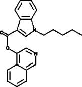 PB-<wbr/>22 4-<wbr/>hydroxyisoquinoline isomer