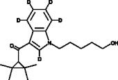 UR-<wbr/>144 N-<wbr/>(5-<wbr/>hydroxypentyl) metabolite-<wbr/>d<sub>5</sub>