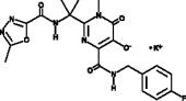 Raltegravir (potassium salt)
