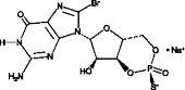 Rp-8-bromo-Cyclic GMPS (sodium salt)