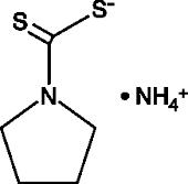 Pyrrolidinedi<wbr/>thiocarbamic Acid (ammonium salt)