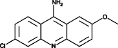 9-Amino-6-<wbr/>chloro-2-<wbr/>methoxy<wbr/>acridine