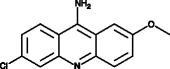 9-Amino-6-<wbr/>chloro-2-<wbr/>methoxy<wbr/>acridine